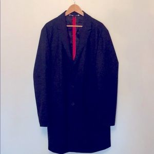 Hugo Boss Red Label Slim Fit Wool Blend Men's Coat